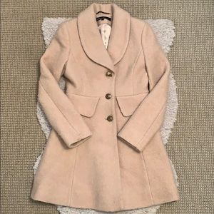Kenneth Cole - Tan / Camel Color Boucle Coat 🐪